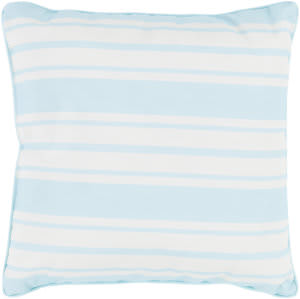 Surya Nautical Stripe Pillow Ns-002