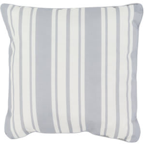 Surya Nautical Stripe Pillow Ns-005 Gray