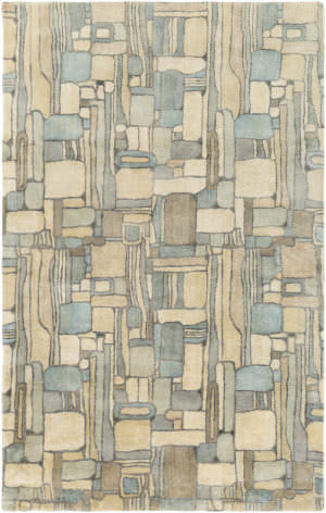 Surya Natural Affinity Nta-1002 Cream/Aqua Area Rug