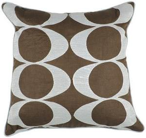 Surya Pillows P-0180 Chocolate/Light Gray