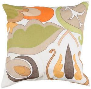 Surya Pillows P-0197 Gold/Orange