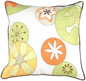 Surya Pillows P-0198 Sunflower