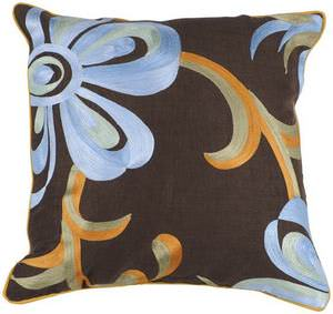 Surya Pillows P-0201 Chocolate