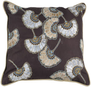 Surya Pillows P-0204 Chocolate