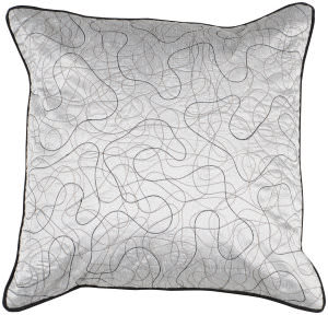 Surya Pillows P-0211 Light Gray
