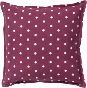 Surya Polka Dot Pillow Pd-003 Rust