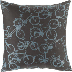 Surya Pedal Power Pillow Pdp-001 Black