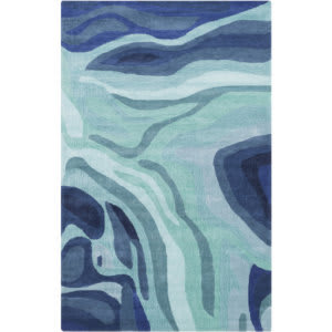 Surya Pigments PGM-3003 Teal Area Rug