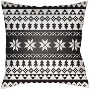Surya Snowflake Sweater Pillow Phdsw-001