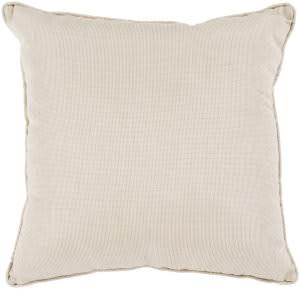 Surya Piper Pillow Pi-005 Gray