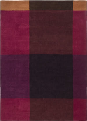 Surya Plaid Pid-1000 Burgundy Area Rug