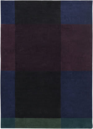 Surya Plaid Pid-1001 Navy Area Rug