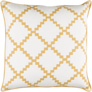 Surya Parsons Pillow Pr-007 Gold