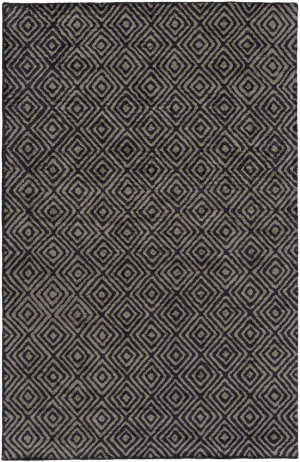 Surya Quartz Qtz-5008 Charcoal Area Rug