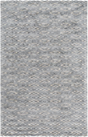 Surya Quartz Qtz-5015 Charcoal Area Rug