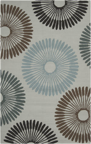 Surya Rain RAI-1085 Silvered Gray Area Rug