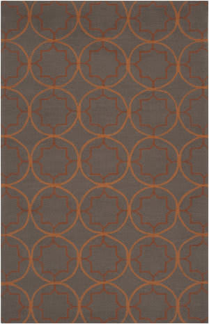 Surya Rain RAI-1095 Burnt Orange Area Rug
