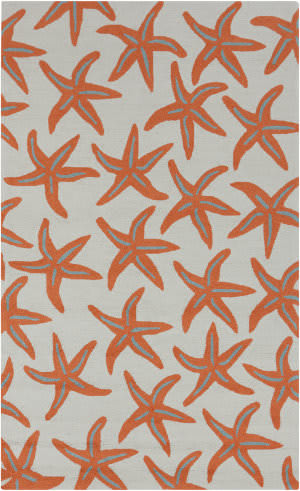 Surya Rain RAI-1136 Burnt Orange Area Rug