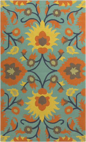 Surya Rain RAI-1147 Orange Area Rug