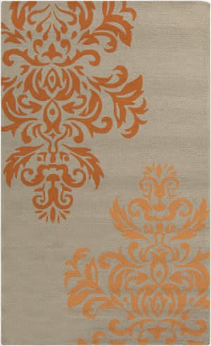 Surya Rain RAI-1161 Burnt Orange Area Rug