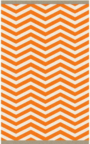Surya Rain RAI-1175 Burnt Orange Area Rug