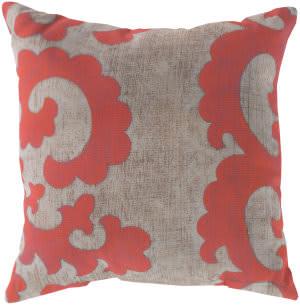 Surya Rain Pillow Rg-019 Coral