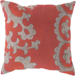 Surya Rain Pillow Rg-023 Coral
