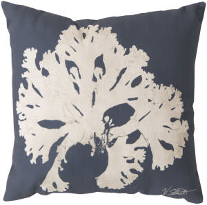 Surya Rain Pillow Rg-054 Navy