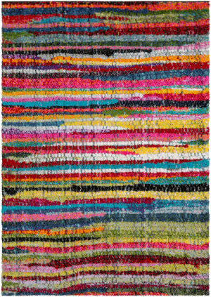 Surya Rainbow Shag Rws-6204  Area Rug