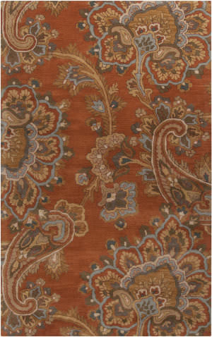 Custom Surya Sea Sea-170 Copper Penny Area Rug