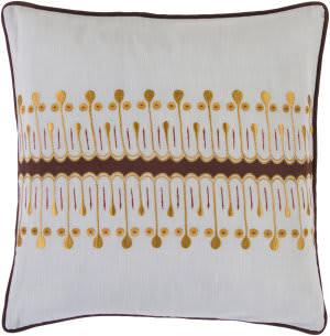 Surya Pillows SI-2015 Slate/Rust