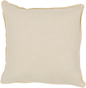 Surya Solid Pillow Sl-005 Yellow