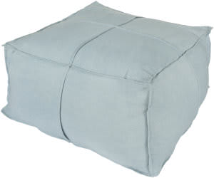 Surya Solid Linen Pouf Slph-003