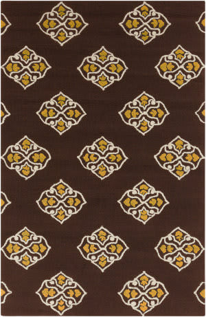 Surya Storm SOM-7726 Coffee Bean Area Rug