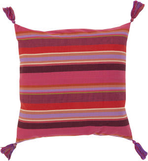 Surya Stadda Stripe Pillow Ss-002