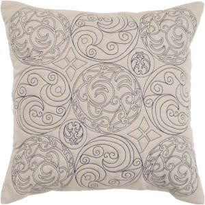 Surya Pillows ST-106 Beige/Navy
