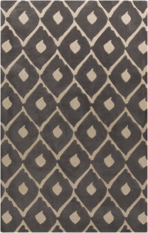 Surya Stamped STM-802 Gray Area Rug