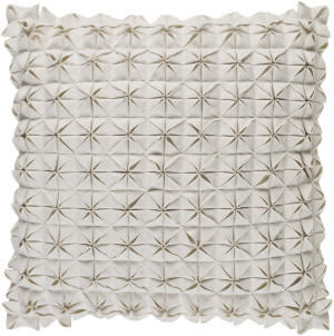 Surya Structure Pillow Suu-004 White