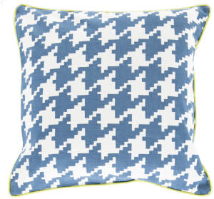 Surya Houndstooth Pillow Sy-035
