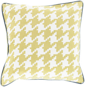 Surya Houndstooth Pillow Sy-041