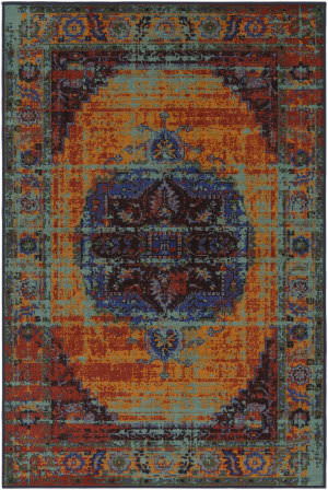 Surya Sonya Sya-1012 Orange Area Rug