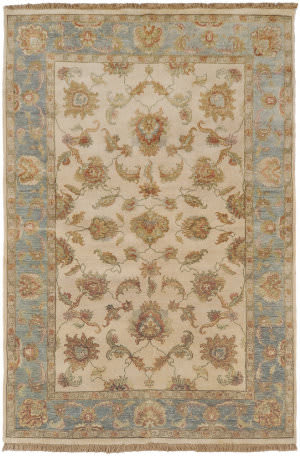 Surya Timeless Tim-7913 Beige / Sea Foam Area Rug