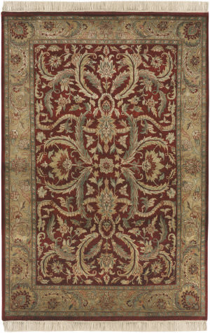 Surya Taj Mahal Tj-59 Red / Gold Area Rug