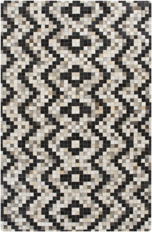 Surya Trail Trl-1132 Black Area Rug