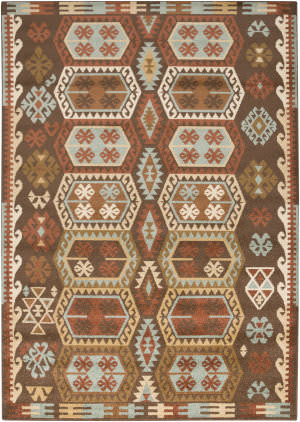 Surya Tatil Ttl-1025 Chocolate Area Rug