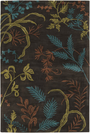 Surya Universal UNI-1002 Dark Brown Area Rug