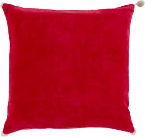 Surya Velvet Poms Pillow Vp-003