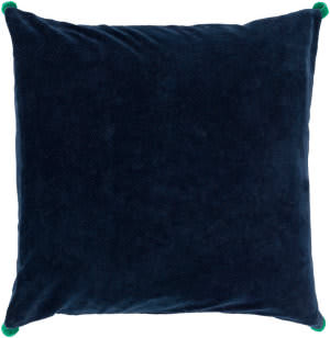 Surya Velvet Poms Pillow Vp-004