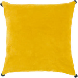 Surya Velvet Poms Pillow Vp-007