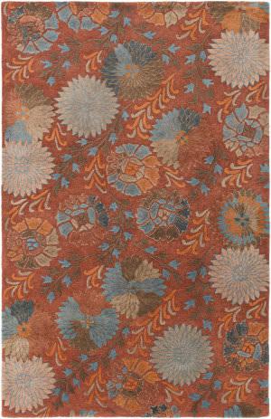 Surya Vintage Vtg-5240 Burgundy Area Rug